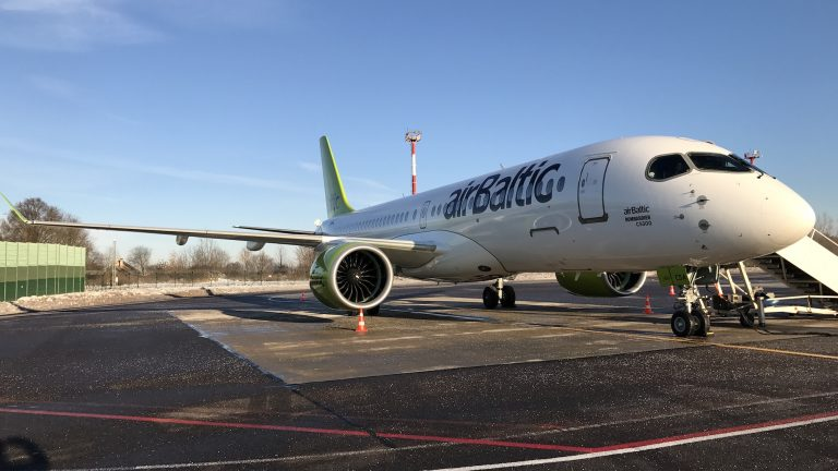 What airBaltic will do with bi​g fleet of Airbus 220s?